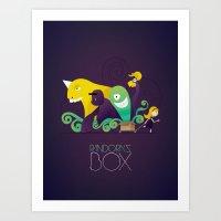 Pandora's Box Art Print