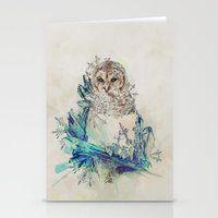Night Frost Stationery Cards