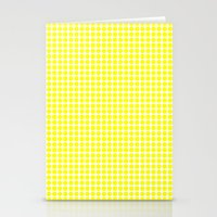YELLOW DOT Stationery Cards