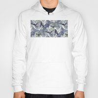 Hoody featuring Birds Pattern by Nato Gomes