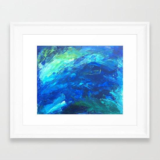Waters of Key West Framed Art Print