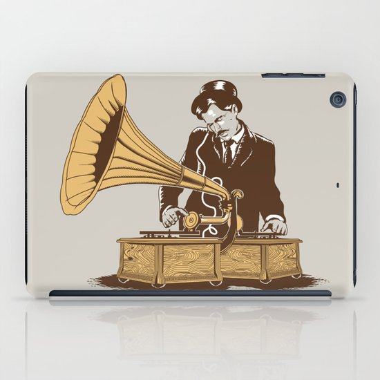 The Future In The Past iPad Case