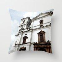 Majestic Church Throw Pillow