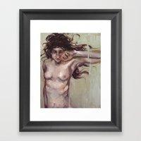 The Wanting Framed Art Print