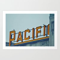 Pacific Central Art Print