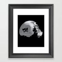 ET Wars Framed Art Print
