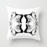 Mirrored Compassion Throw Pillow