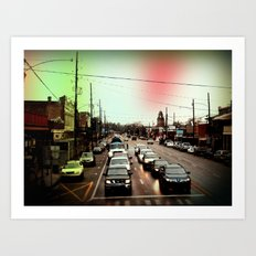 from the train 2 Art Print