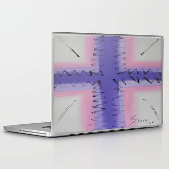 Cross Laptop & iPad Skin