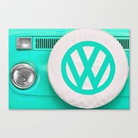 VW Camper Van Canvas Print