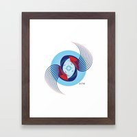 Fleuron Composition No. 125 Framed Art Print
