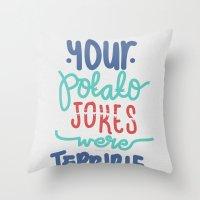 Potato Throw Pillow