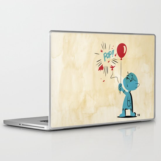 A Picture to Draw When I'm Sad Laptop & iPad Skin