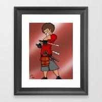 Street Samurai Series - … Framed Art Print