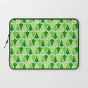 Holiday Tree Pattern Laptop Sleeve