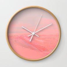 CHEMIN ROSE Wall Clock