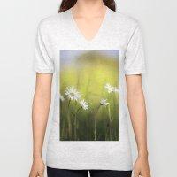 Daisy Landscape Unisex V-Neck