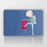 Martini angel of the evening Laptop & iPad Skin