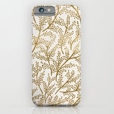 Gold Branches iPhone 6 Slim Case