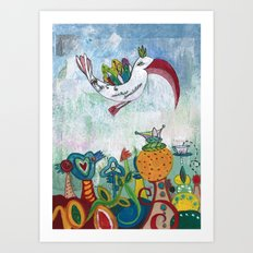 Bird of Possibility Art Print
