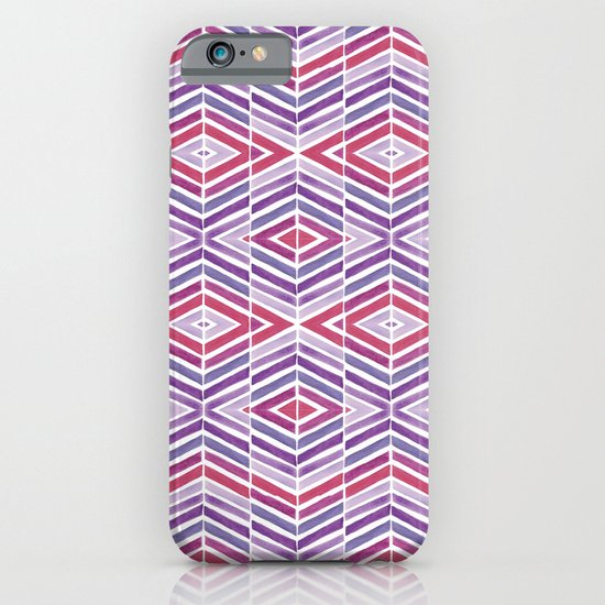 Gem Tone Watercolor Diamonds iPhone & iPod Case