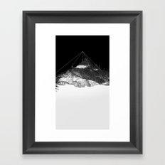 Crystal Mountain Framed Art Print