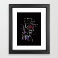 be you Framed Art Print