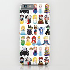 Kokeshis Fairy tales (new version) iPhone 6 Slim Case