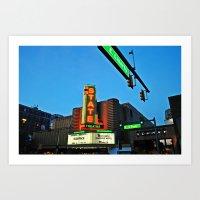 State Theatre, Ann Arbor… Art Print