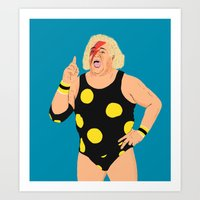 Ziggy StarDusty Rhodes Art Print