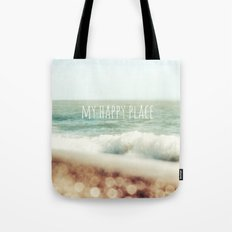 Beach - My Happy Place Tote Bag