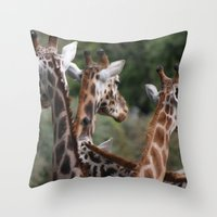 Lovely Ladies Throw Pillow