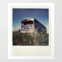 The Spit - Polaroid Art Print