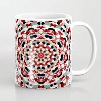 Mandala Number 4 - Square Format Mug