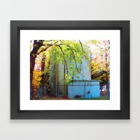 Toxic Nature Framed Art Print