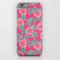 Roses Pink iPhone 6 Slim Case