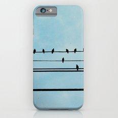 Birds on a Wire iPhone 6 Slim Case