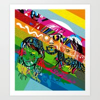 Tribute To Ed Banger Rec… Art Print