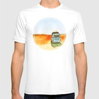 homey  Mens Fitted Tee White SMALL