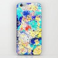 Paint Splash Crazy iPhone & iPod Skin