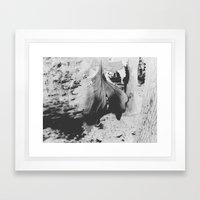 Leaf Of Whispers Framed Art Print