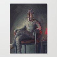 Recreation Succeeds Prof… Canvas Print