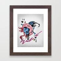LAW Framed Art Print
