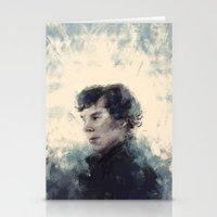 sherlock Stationery Cards featuring Sherlock by nlmda