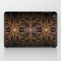 Steampunk Engine Abstract Fractal Art iPad Case