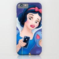 Snow White Duck Face iPhone 6 Slim Case