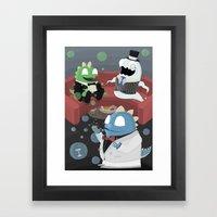Bubble Bobble Cocktail P… Framed Art Print