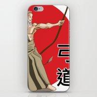Kyudo - Be the Arrow iPhone & iPod Skin
