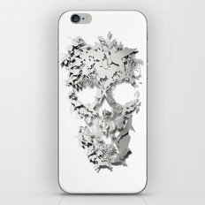Simple Skull iPhone & iPod Skin
