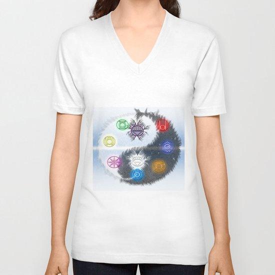 Lantern Corp - Life Giveth & Death Taketh V-neck T-shirt